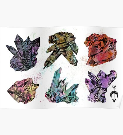 6 Crystals Poster