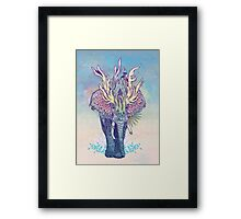 Spirit Animal - Elephant Framed Print
