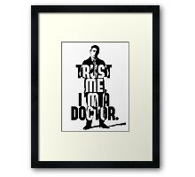 Watson. John Watson, the 2nd. Framed Print