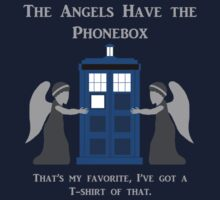 The Angels Have the Phonebox by BrandonB9