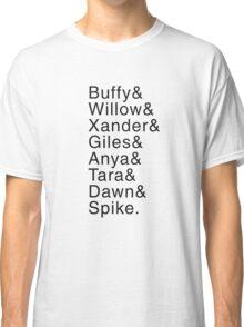 Buffy Characters (Seasons 4-6) Classic T-Shirt