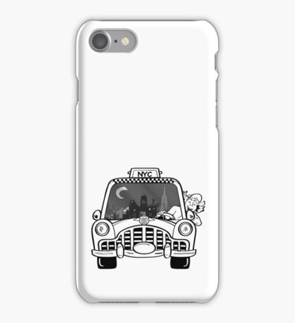 New York Taxi Driver iPhone Case/Skin