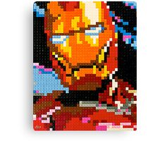 Lego Iron Man Canvas Print
