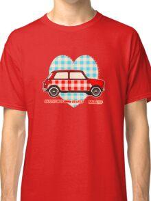 Gingham Heart, Happiness Is Mini Shaped Classic T-Shirt