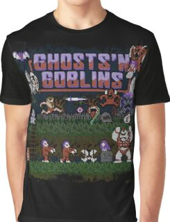 Goblins n' Ghosts Graphic T-Shirt