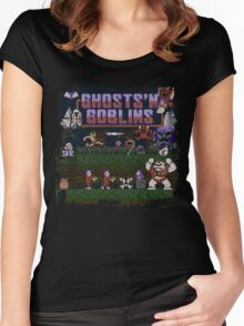 Goblins n' Ghosts Women's Fitted Scoop T-Shirt