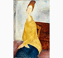 Amedeo Modigliani - Jeanne Hebuterne With Yellow Sweater (Le Sweater Jaune)  Unisex T-Shirt