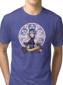 Aqua - There's always a way Tri-blend T-Shirt