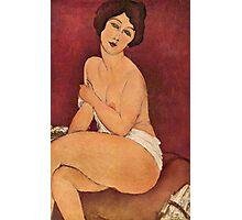 Amedeo Modigliani - Nude (Nu)  Photographic Print