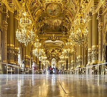 Opera House, Paris by John Velocci