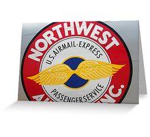 Northwest Express Greeting Card