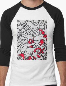 IMPULSIVE (Graffiti) Men's Baseball ¾ T-Shirt