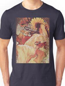 Alphonse Mucha - Chocolat Massonchocolat Mexicain Summer Unisex T-Shirt