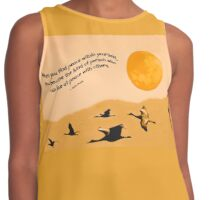 To Inner Peace - (Comes with any quote or no text) Contrast Tank