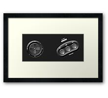 Genesis Controller Framed Print
