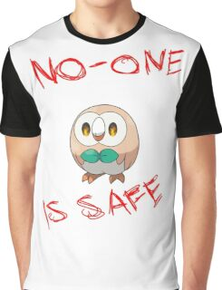 Rowlet, Destroyer of Worlds Graphic T-Shirt