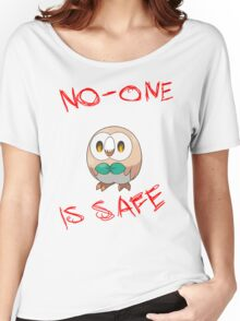 Rowlet, Destroyer of Worlds Women's Relaxed Fit T-Shirt