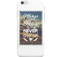 Typography Quote iPhone Case/Skin