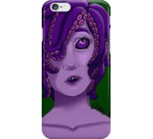 Your Friendly Nonbinary Sea Monster iPhone Case/Skin