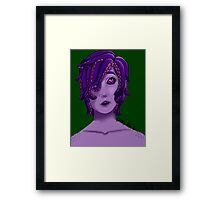 Your Friendly Nonbinary Sea Monster Framed Print