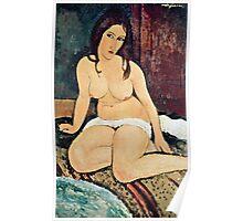 Amedeo Modigliani - Seated Nude  Poster
