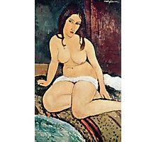 Amedeo Modigliani - Seated Nude  Photographic Print