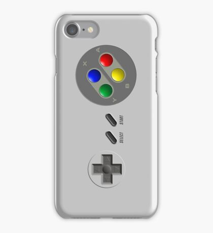 SNES Controller iPhone Case/Skin