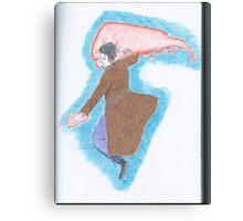 Giant fist Canvas Print