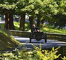 1905 200HP Darracq Land Speed Record Car by Paul Woloschuk