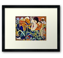 August Macke - Eastern Women  Framed Print
