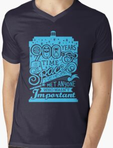 900 Years of Time and Space Mens V-Neck T-Shirt