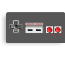 NES Buttons Canvas Print
