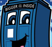 The Little Police Box Sticker