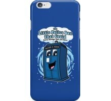 The Little Police Box iPhone Case/Skin