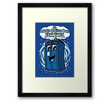 The Little Police Box Framed Print