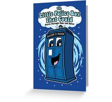 The Little Police Box Greeting Card