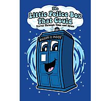 The Little Police Box Photographic Print