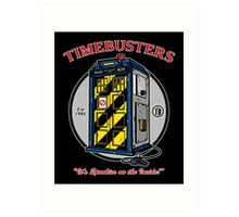 Timebusters Art Print