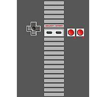 NES Controller Stripe Photographic Print