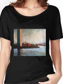 Melbourne Docklands Women's Relaxed Fit T-Shirt