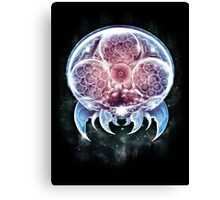 The Epic Metroid Organism  Canvas Print