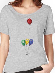Runaway angry balloon Women's Relaxed Fit T-Shirt