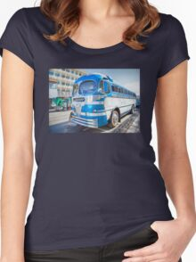 GREYHOUND TO BANFF Women's Fitted Scoop T-Shirt