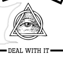 MEME (Illuminati, 420, BLAZE IT, MLG, ect.) Sticker