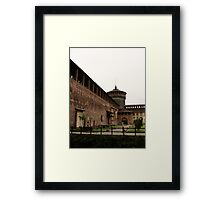 The Milan Castle Framed Print
