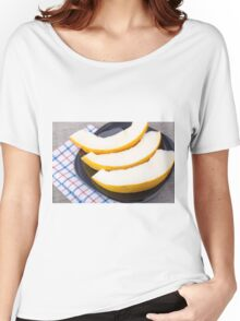Dessert of sweet yellow melon slices Women's Relaxed Fit T-Shirt