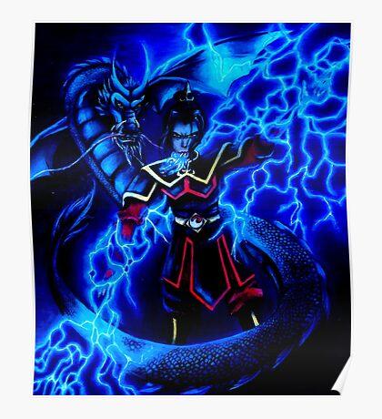 Azula - Avatar The Last Airbender - Dark Poster
