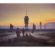 Caspar David Friedrich - The Stages Of Life  Photographic Print