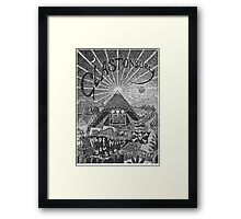 Glastonbury (2010) Framed Print