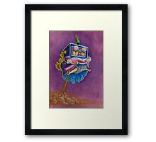 Princess Toadstool - Super Mario bros 2 Nintendo Framed Print